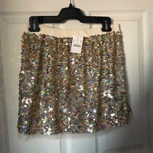 J.Crew crewcuts sparkle skirt!